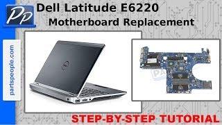 Dell Latitude E6220 Motherboard Video Tutorial Teardown