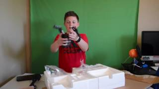HP Pavilion 22cwa 21.5 inch monitor unboxing