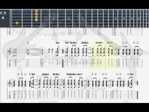 Gallagher Rory Souped Up Ford Guitar Tab Youtube