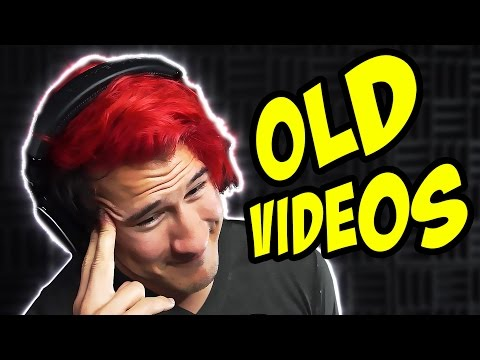 Thumbnail: Markiplier Reacting to Old Videos