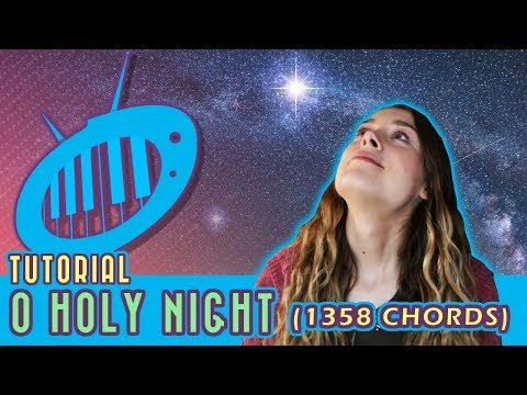 Christmas Piano Tutorial O Holy Night 1358 Chords Youtube