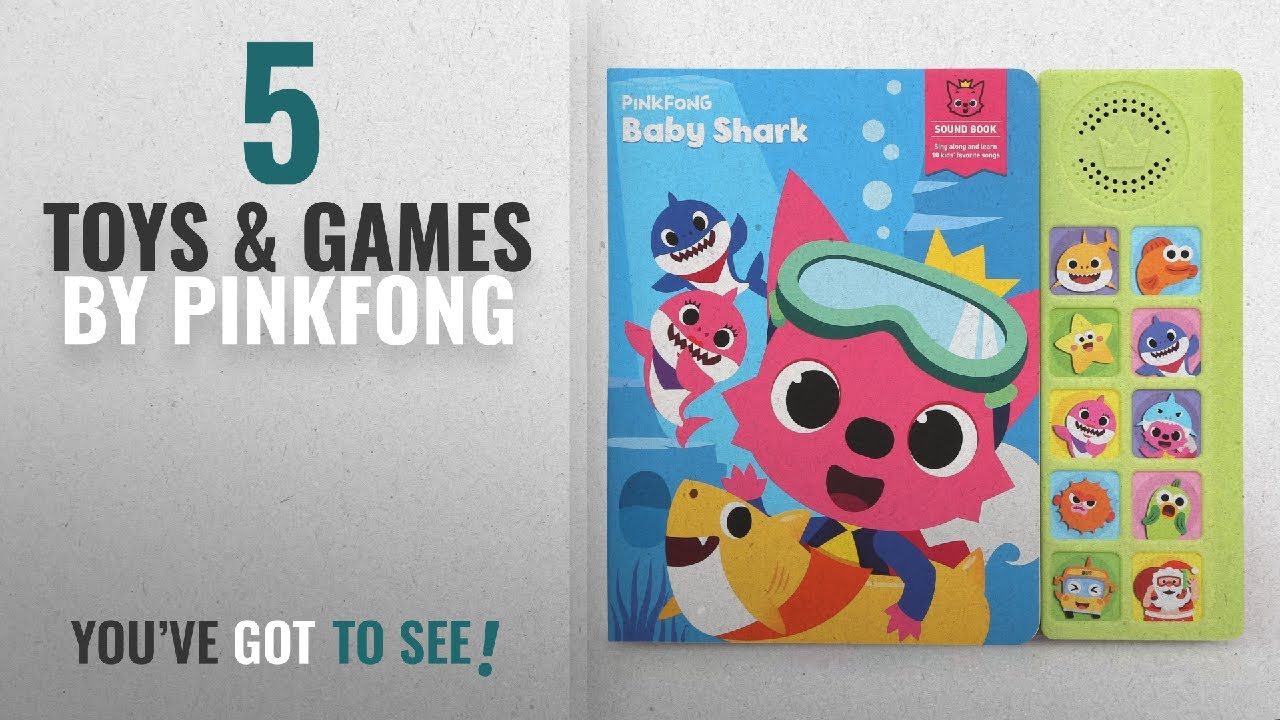 39bf02e95 Top 10 Pinkfong Toys & Games [2018]: Pinkfong Children'S Baby .