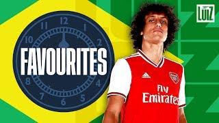 Kaka, Ronaldo and Romario | Favourites, with David Luiz