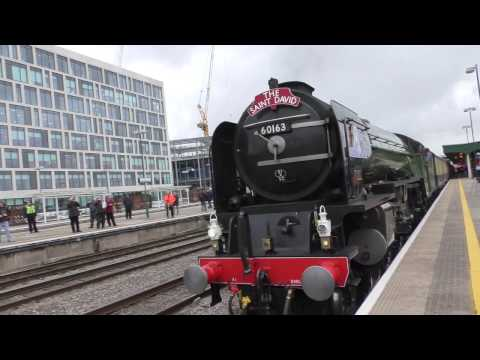 60163 Tornado on The Saint David at Cardiff Central March 1st 2017