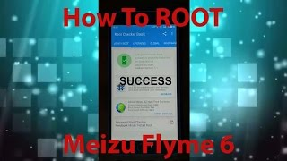 HOW TO ROOT Flyme 6 Meizu M2 Note