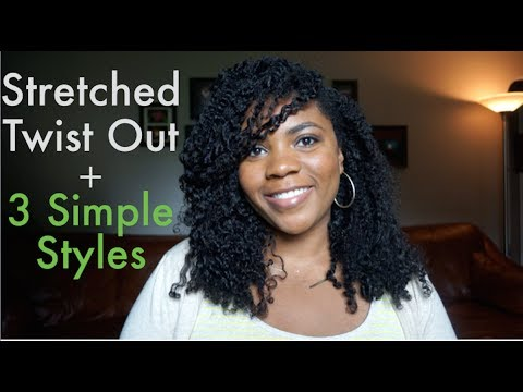 Simple Twist Styles For Natural Hair