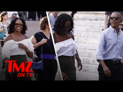 Michelle Obama Shows Some Skin! | TMZ TV