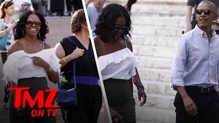 Michelle Obama Shows Some Skin!   TMZ TV