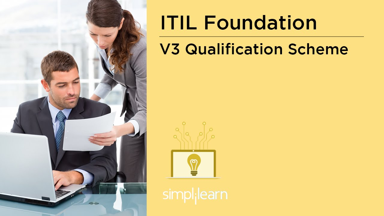 Itil V3 Qualification Scheme Itil V3 Foundation Training Youtube