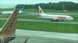 Planespotting in Sepinggan Balikpapan Airport - Part 1 of 2 (15 Feb 2017)