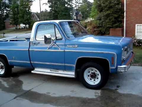 1973 Chevy Truck >> 1973 Chevy Truck C20 Camper Special Part 2