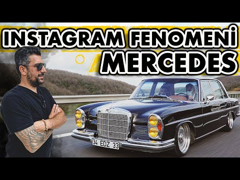 1970 Model Mercedes ve 250 Bin TL'lik Restorasyon