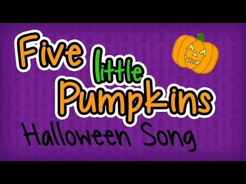5 Little Pumpkins  Halloween Songs for Children  Fun Kids Nursery Rhymes