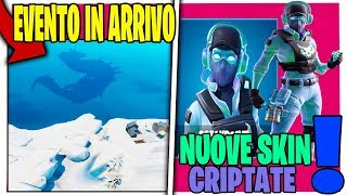 THE MOSTRO is SCAPPATOED EVENT PEAK POLARE FORTNITE NEW SKIN SEGRETA SEASON 9
