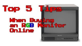 Top 5 Tips For Buying an RGB Monitor Online