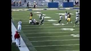 WVU Mountaineers vs Villanova Wildcats 2008 - Part 5 UNCUT