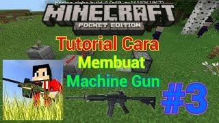 TUTORIAL cara membuat senjata di Minecraft PE 0.14.3