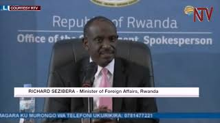 Uganda hosting dissidents - Rwanda Minister