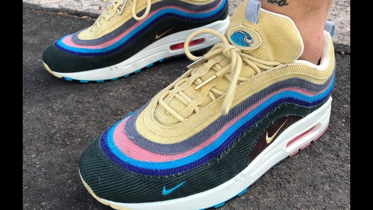 260099472a Sean Wotherspoon Nike Air Max 97 x Air Max 1 Hybrid GET from aj23shoes.net