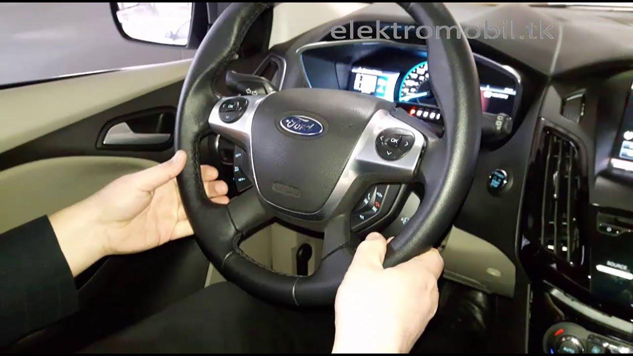 Электромобиль Форд Фокус Ford Focus Electric купить. Обзор 1