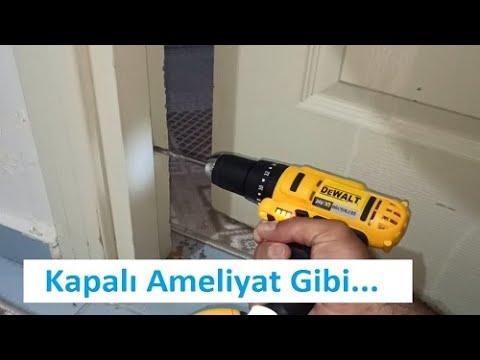 Evde Çok Kolay Ve Pratik Kapı Tamiri Nasıl Yapılır / Sökmeden, Usta Çağırmadan