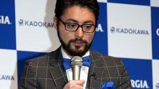 俳優の山田孝之さんが1月23日、東京都内で行われたスマートフォン向け無...