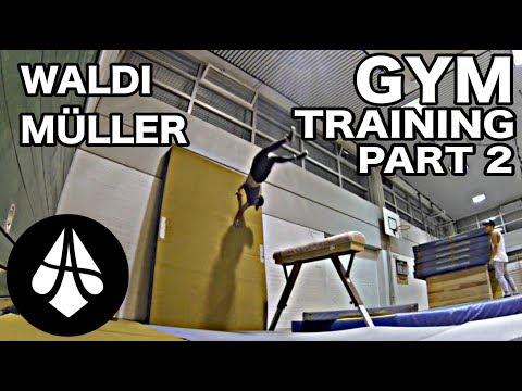 Waldi Müller - GYM TRAINING PART 2