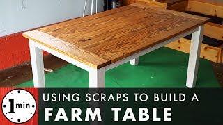 Farm Table DIY, Full Build!