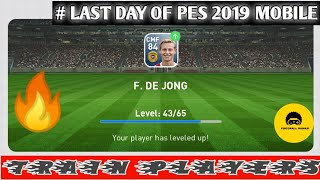 Train PLAYERS To Max in Pes 2020 Last Day Of Pes 2019 Mobile