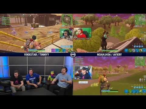 Vikkstar123 & Tinny Vs NoahJ456 & Avxry | Friday Fortnite Week 4 | Winners Semifinals