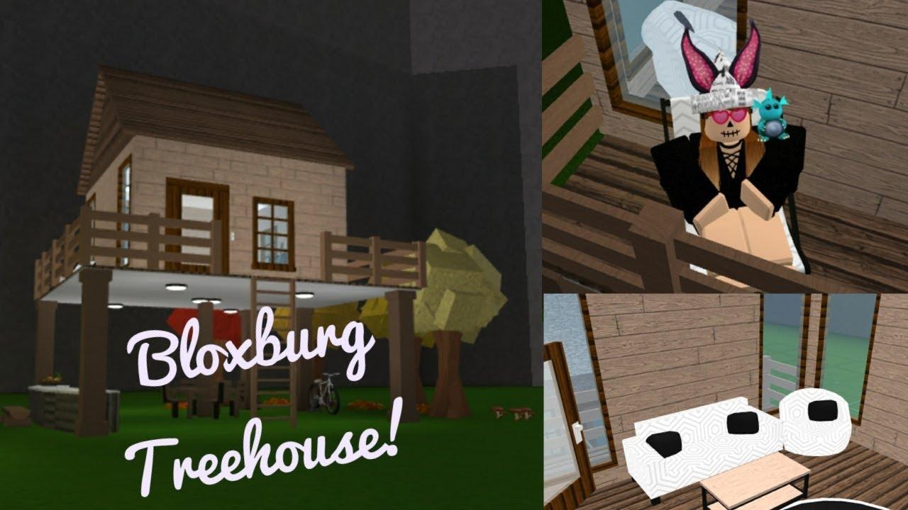 Treehouse Speedbuild Roblox Bloxburg Youtube