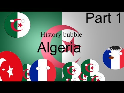 History Bubble Algeria under France and the Otomans