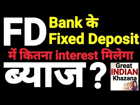 Fixed Deposit (FD) -  interest calculator (Bank and Banking Tips)