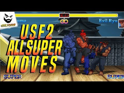 Ultra Street Fighter 2 [Switch] All Super Moves