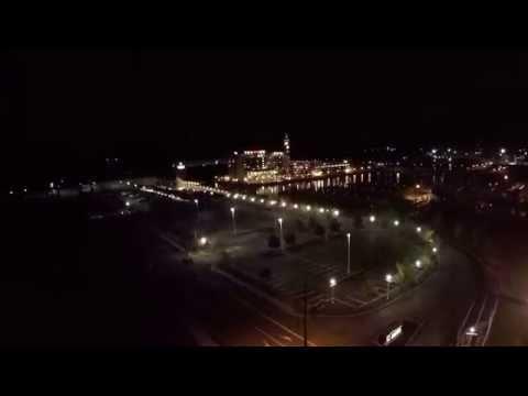 Erie by Day and Night (GoPro Hero4 + DJI Phantom II)