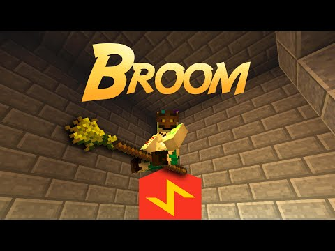 Harry Potter Broomstick In Minecraft