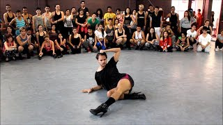 "YANIS MARSHALL CHOREOGRAPHY ""BODY PARTY"" CIARA. WORKSHOP IN MEXICO #YanisTourBitch @yanismarshall"