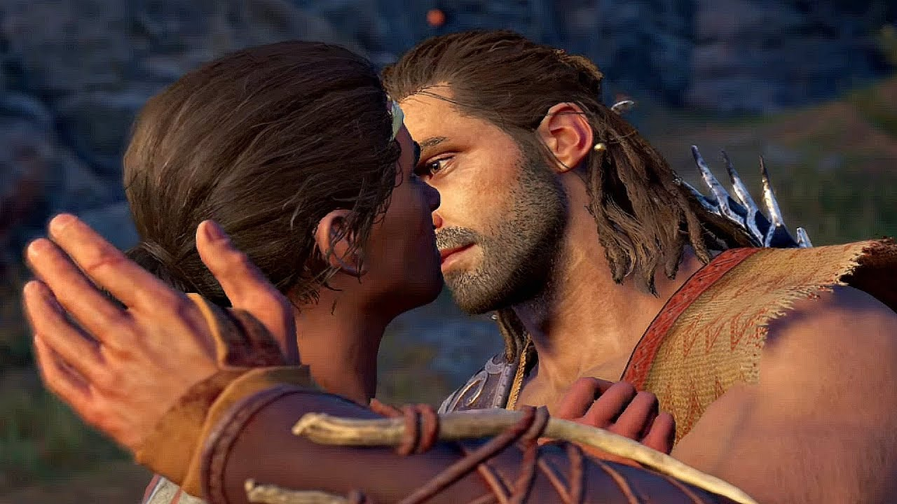 Assassin S Creed Odyssey Alexios Falls In Love Daphnae Romance