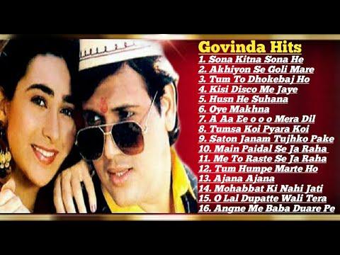 Govinda 💞 Karishma Kapoor  90's Block Buster Romantic💖💘hit Songs Collection   Govinda Hit Songs Mp3