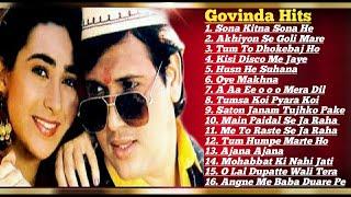 Govinda 💞 Karishma Kapoor||90's Block Buster Romantic💖💘hit Songs Collection|| Govinda Hit Songs Mp3