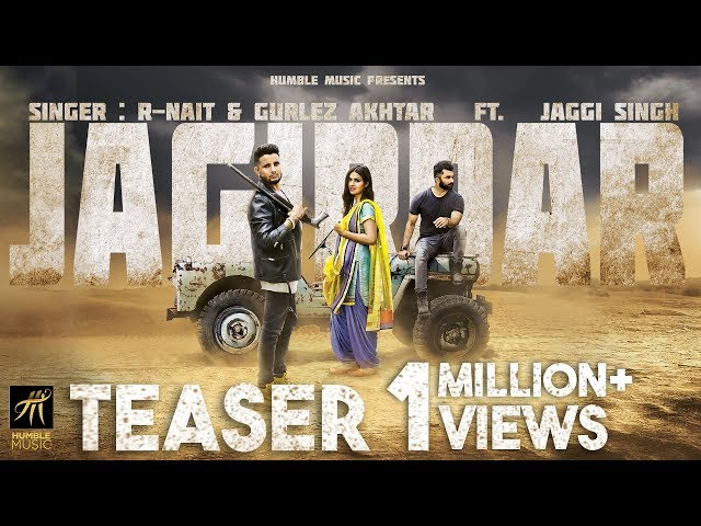 Teaser | Jagirdar | R-Nait, Gurlez Akhtar Ft. Jaggi Singh | Releasing on 25th September