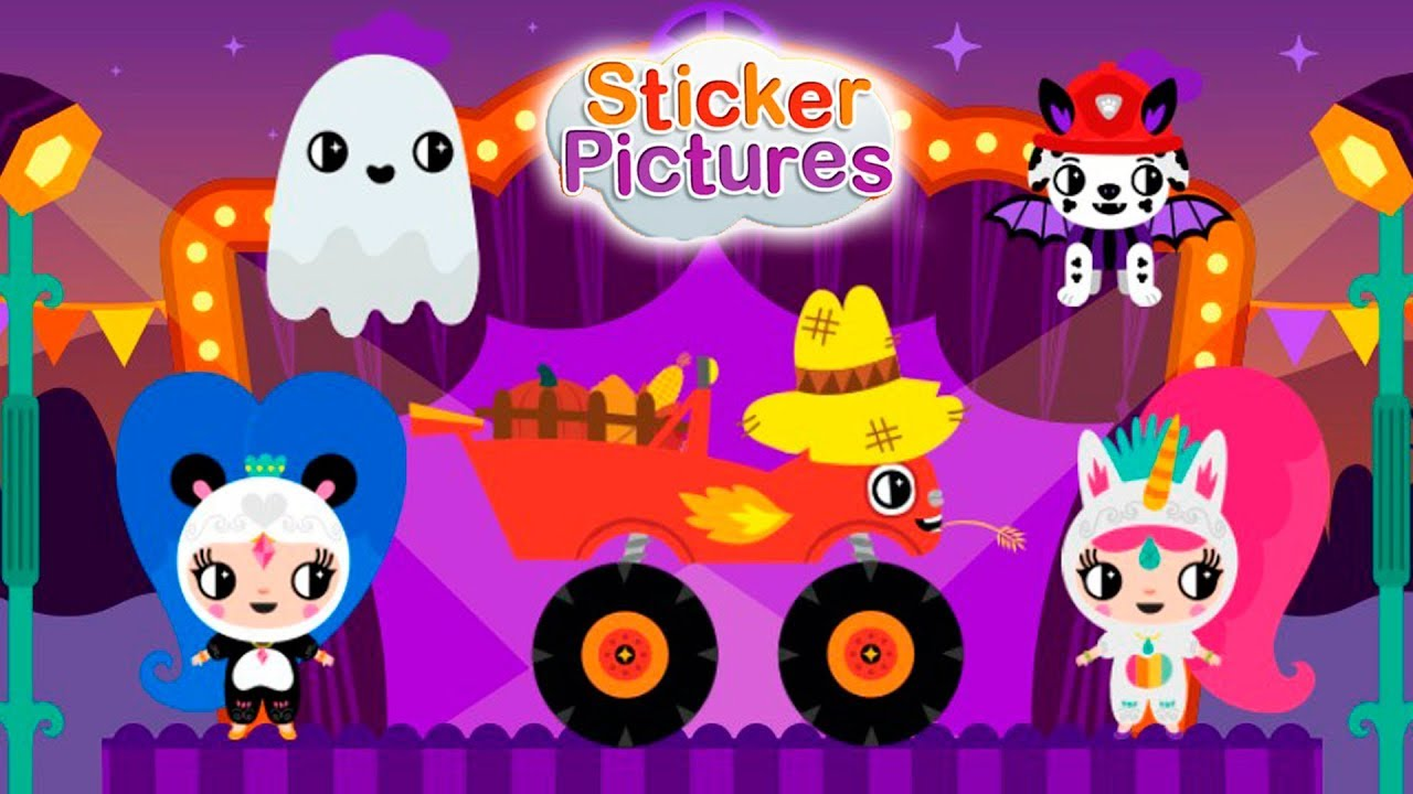 nick jr sticker pictures halloween