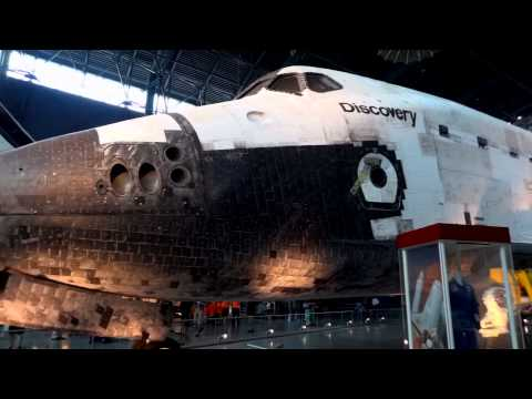 HD - 2013 Smithsonian Air and Space Museums - Steven F. Udvar-Hazy Center & National