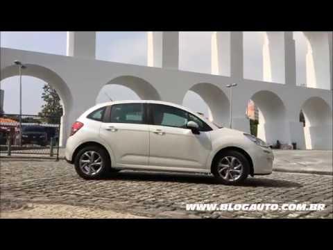 Tudo sobre o Citroën C3 Pure Tech 2017 com motor 3 cilindros - BlogAuto