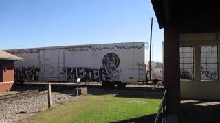 CSX Train With Very Old Caboose