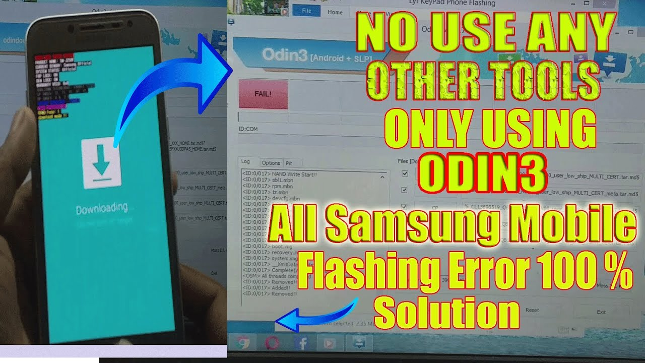 SAMSUNG J250F FLASHING FAIL! SOLUTION/Samsung Odin3 Flash Fail/SW REV CHECK  FAIL! DEVICE:2 BINARY1 ? by Rohit Mobile
