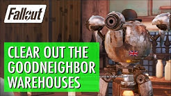 Fallout 4 - Clear out the Goodneighbor Warehouses