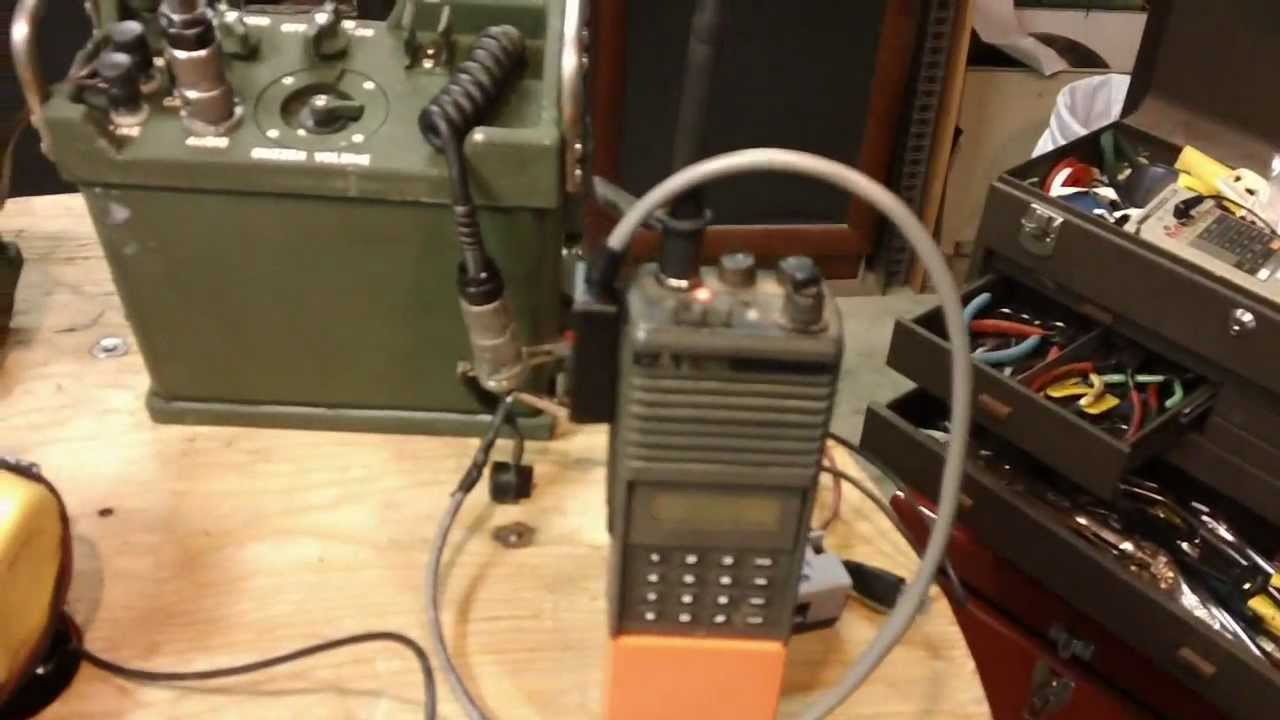 Us Army Surplus >> Field Demo W Mods A N Gra 39b U S Army Surplus Radio Remote
