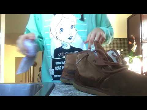 HOW TO: CLEAN UGGS FROM WATER STAINS