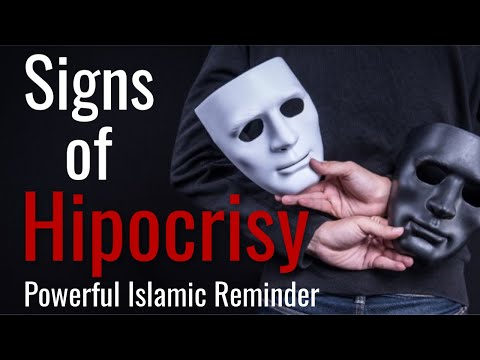 SIGNS OF HYPOCRISY - Sh. Sohaib Hussain - Islamic Reminder - (English) BSL